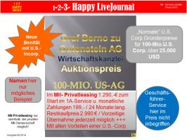 100-Mio.U.S.-AG im MII-Privatleasing